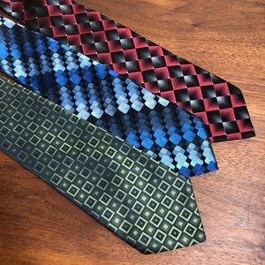 Lot of 3 ties from Stafford